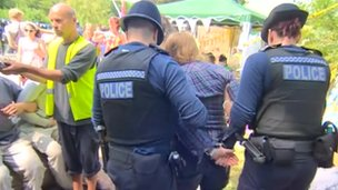 Balcombe protest