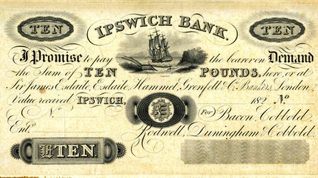 Cobbold Ipswich bank note