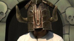 Knightmare helmet