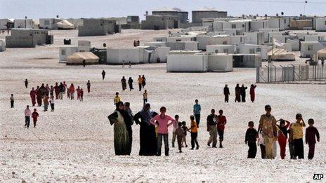 Zaatari, July 2013