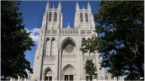Washington National Cathedral file picture