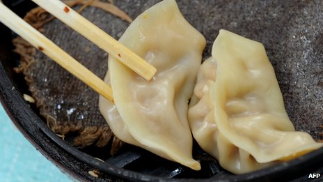 File photo: dumplings