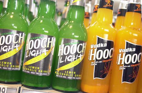 Hooch bottles