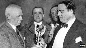 Uruguay win World Cup 1930