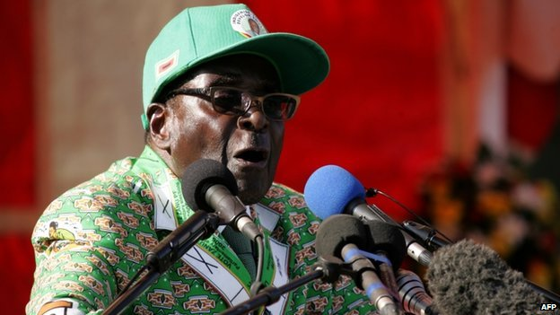 President Robert Mugabe (July 2013)