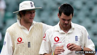 Matthew Hoggard and James Anderson