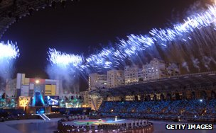 The Deaflympics opening ceremony, Taipei 2009
