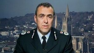 Chief Constable Shaun Sawyer
