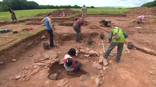 Dorstone archaeology dig