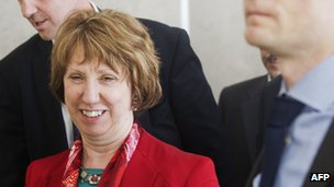 Catherine Ashton in Egypt, 19 Jul 13