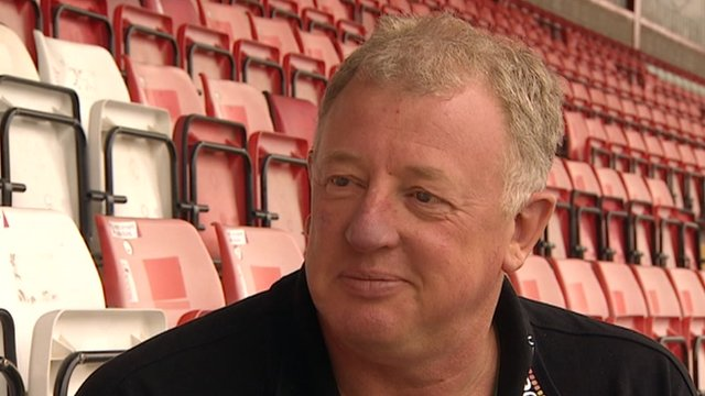 Exeter City acting chairman Julian Tagg