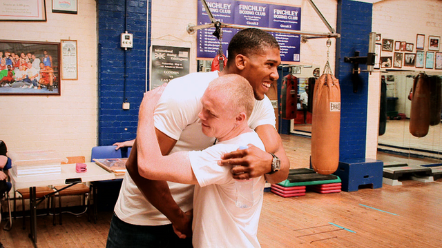 Anthony Joshua and Sean Murphy