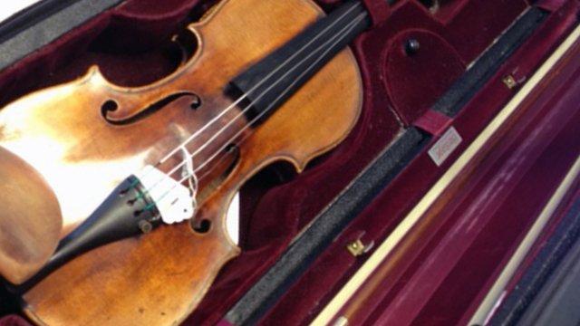 A rare Stradivarius violin