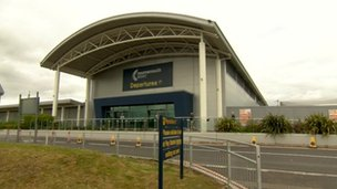 Bournemouth Airport terminal