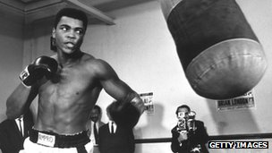 Muhammad Ali training