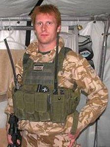 Royal Marine Benjamin Poole
