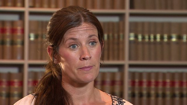 Lawyer Kate McMahon
