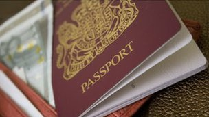 A British passport