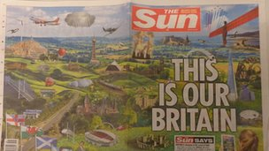 Sun front page 31/7/13