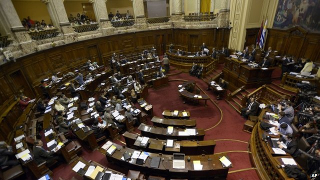 Uruguay's lower house of Congress