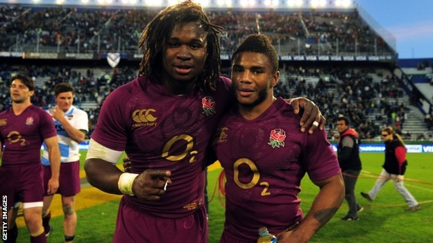 Marland Yarde and Kyle Eastmond.