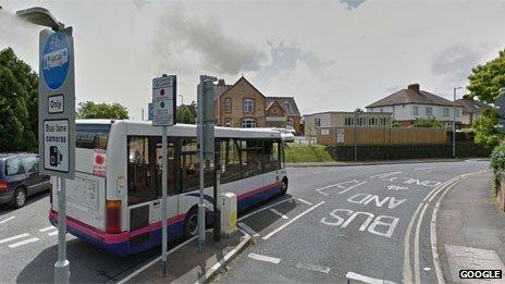 Mountway Road bus gate