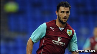 Former Burnley striker Charlie Austin