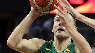 Lithuania basketball London 2012