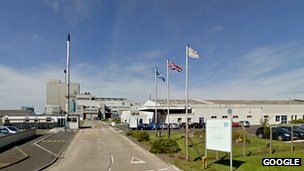 Ardagh Glass factory, Irvine