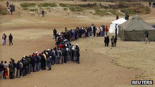 Voting queue