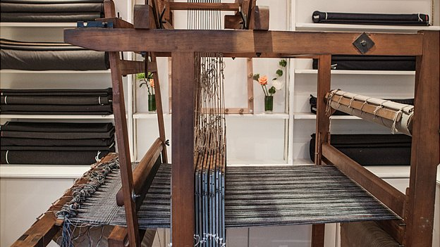 Cad & Dandy's 200-year-old loom