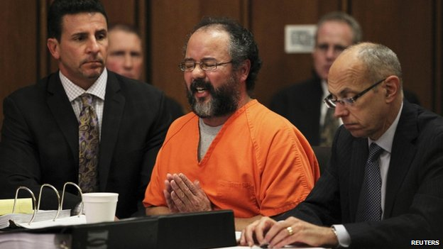 Ariel Castro in court on 1 August 2013