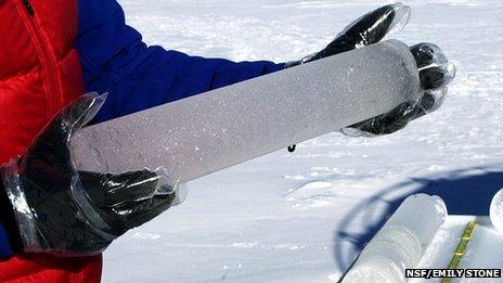 Greenland ice core