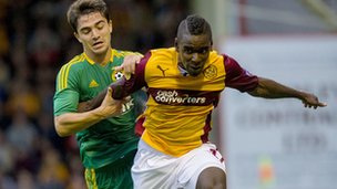 Motherwell will hope to pose more of an attacking threat in the second half at Fir Park