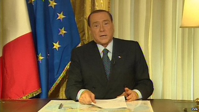 Silvio Berlusconi was found guilty of tax fraud and has been told that he will have to carry out his sentence