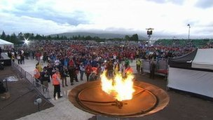 WPFG cauldron