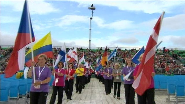 The ceremony marked the official start of WPFG 2013