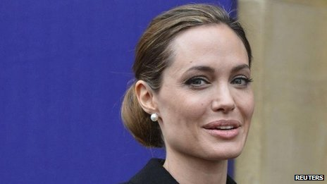 Angelina Jolie arrives for G8 foreign ministers' meeting (11 April)