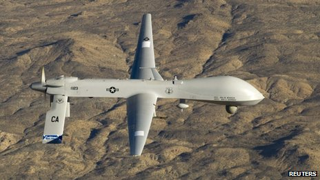 US Air Force MQ-1 Predator drone (file picture)
