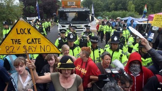Balcombe protest on Friday