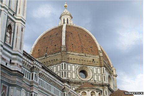 The dome of the Basilica di Santa Maria del Fiore