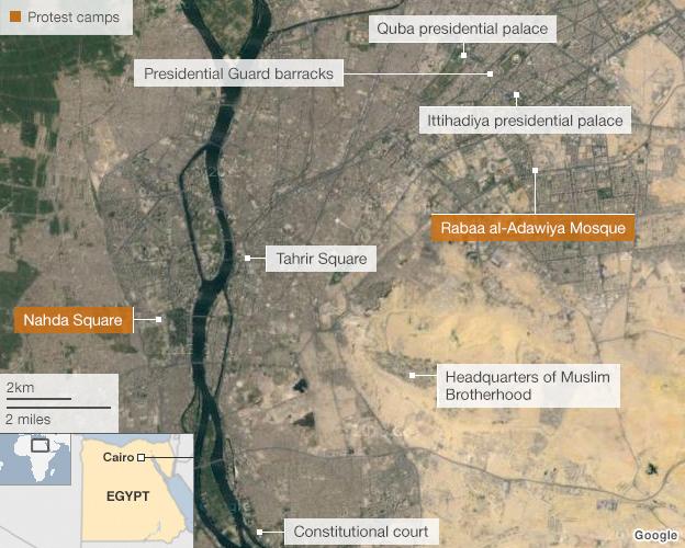 map of cairo