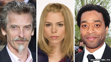 Peter Capaldi, Billie Piper and Chiwetel Ejiofor