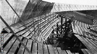 25 people died and more than 500 were injured when a stand collapsed during a Scotland-England game at Ibrox in 1902