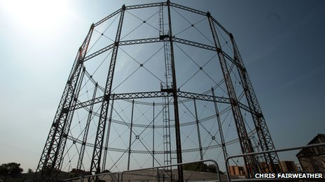 St Mark's gas holder, Hull