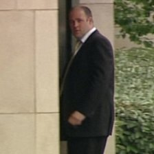 Floyd Lewis outside Bournemouth Crown Court