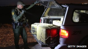 US police find cannabis smuggled in from Mexico