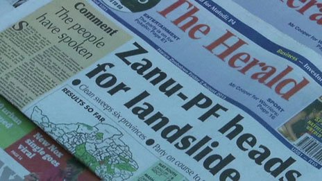 Screen grab of copies of The Herald newspaper for sale on Friday 2 August 2013