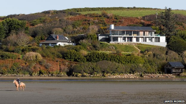 Trewarren, Pembrokeshire - winner of the Gold Medal for Architecture at the National Eisteddfod in Denbigh, 2013