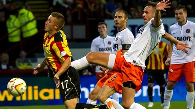 Partick Thistle and Dundee United drew 0-0 at Firhill